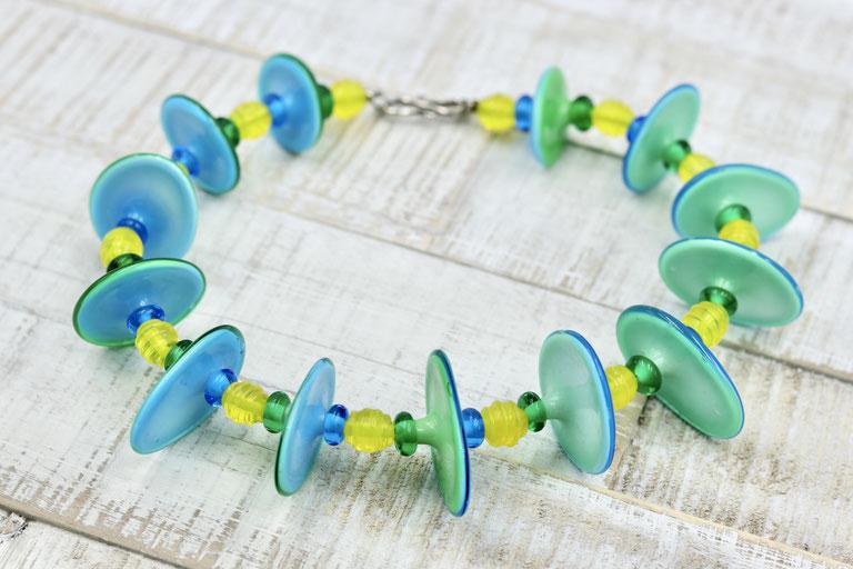 #Strand #glas #Wasser #blau #türkies #grün #handgemacht #Form #shape #glass #Sommer #Sonne #Schmuck #jewelry #unique #Einzelstück