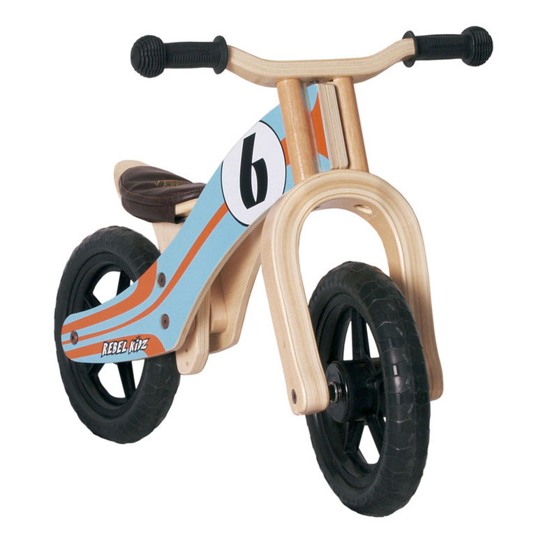 "Rebel Kidz Bici de aprendizaje 12"" Wood Air Le Mans"