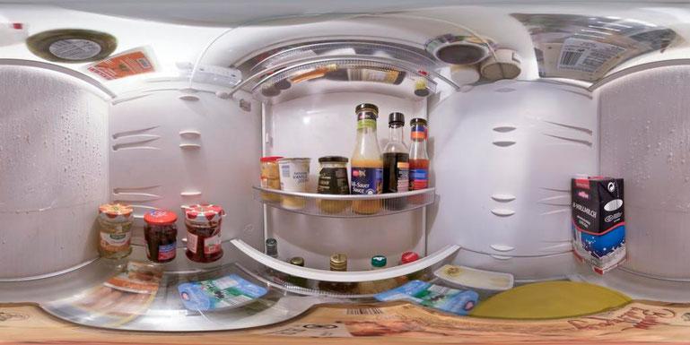 Kühlschrank Querformat : Projekt: kühlschrank innen panorama fotografische seiten