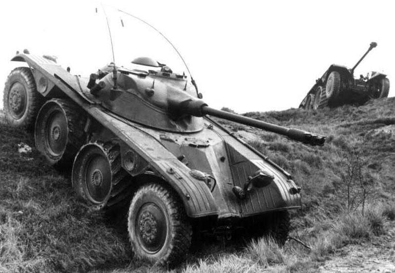 Les grandes lignes sont rapidement définies et très vite l'EBR est adopté par l'Armée française