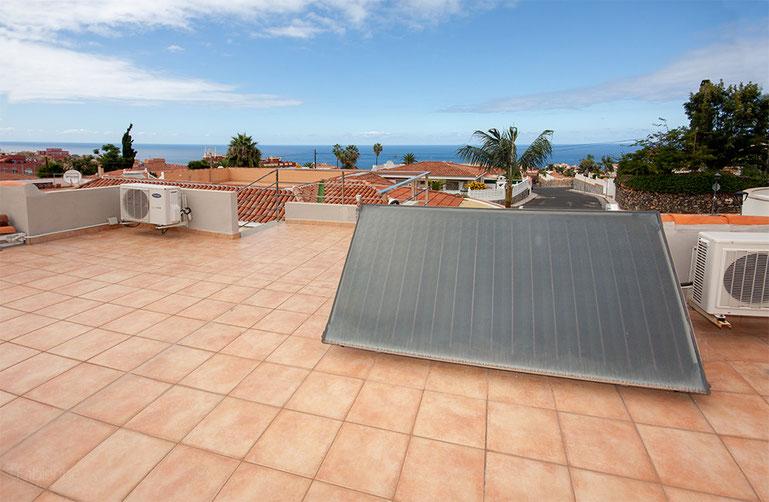 Dachterrasse mit Meerblick