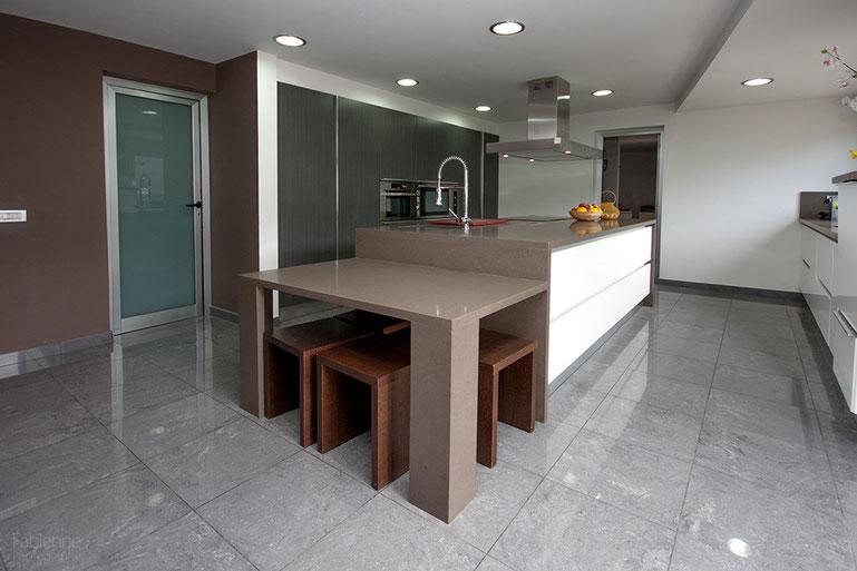 Design Pur! Die Küche des Hauses