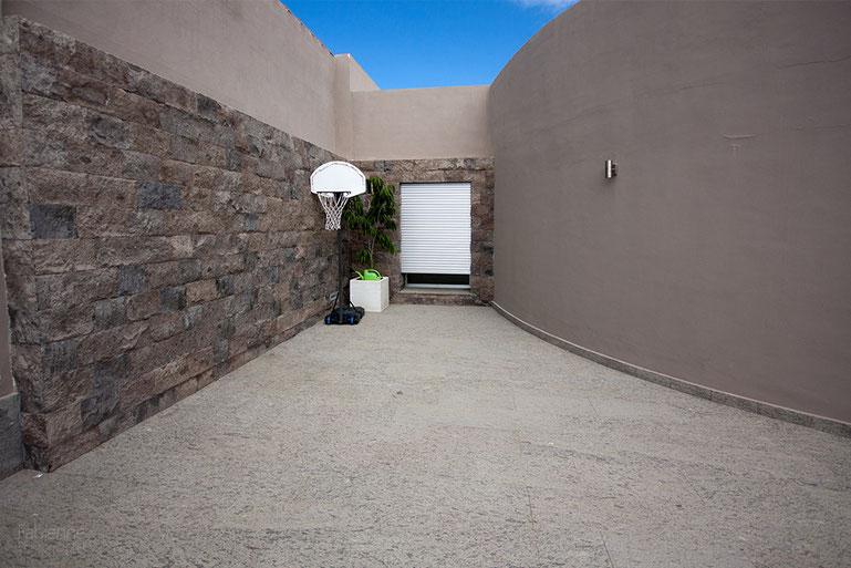 An eine Spielzone wurde in der Villa auf Teneriffa auch gedacht.