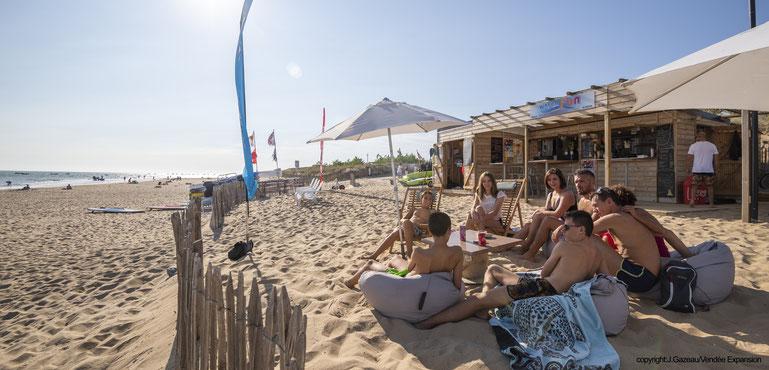 WaterFun Snack : pour manger ou boire sur la plage !