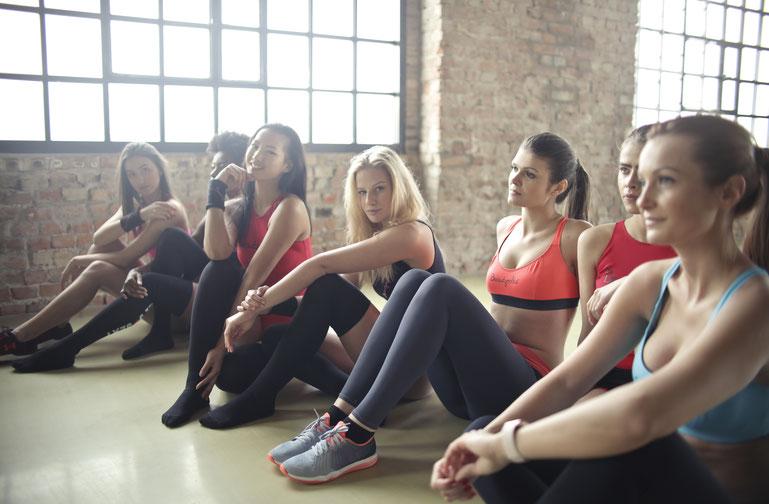 Tanz-Fitness-Unterricht
