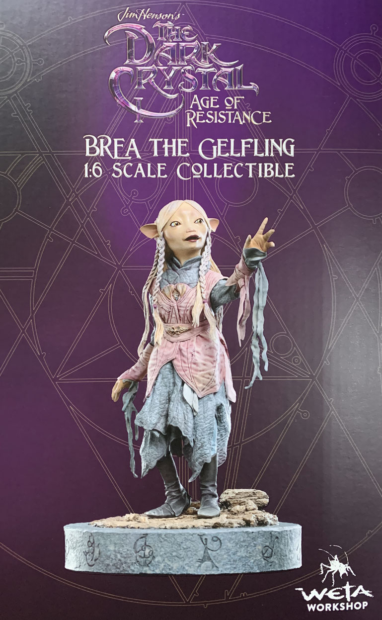 Brea The Gefling 1/6 Der Dunkle Kristall: Ära des Widerstands Statue Resin 19cm Weta