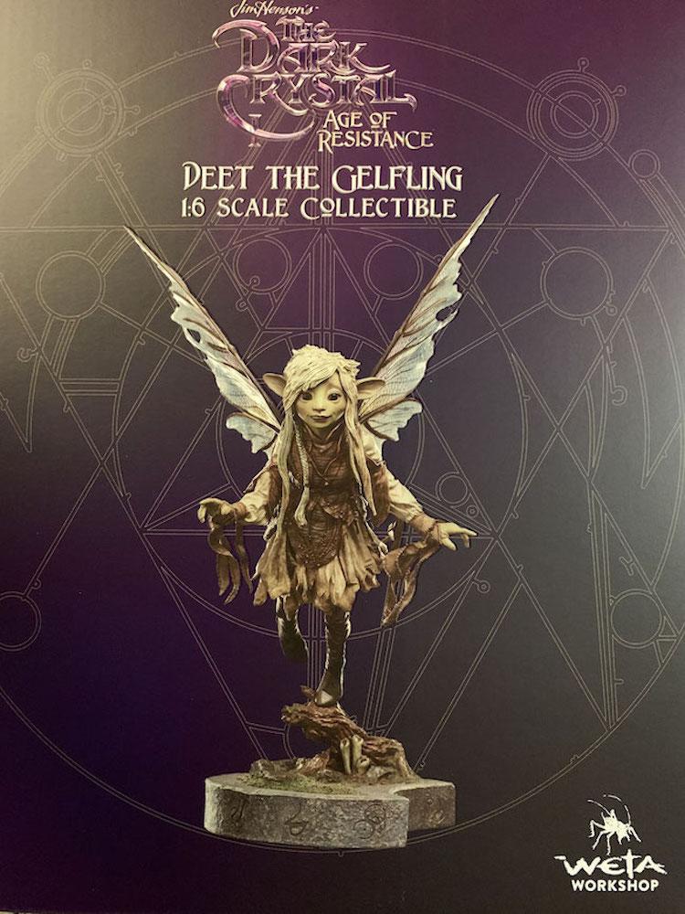 Deet The Gelfling 1/6 Der Dunkle Kristall: Ära des Widerstands Elf Statue 30cm Weta