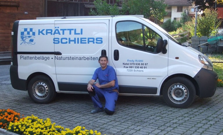 Fredy Kraettli Plattenbelaege Schiers, Chur und Umgebung