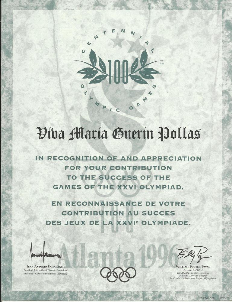 Viva deltog godt nok i en Olympiade, i Atlanta, i 1996. Ikke som rytter med sine kun 23 år, men godkendt af DRF som kvalificeret hestepasser for seniorrytteren N. Haagensen