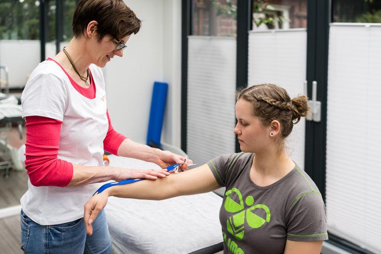 Sportphysiotherapie bei PTS Physiotherapie Schenefeld GmbH