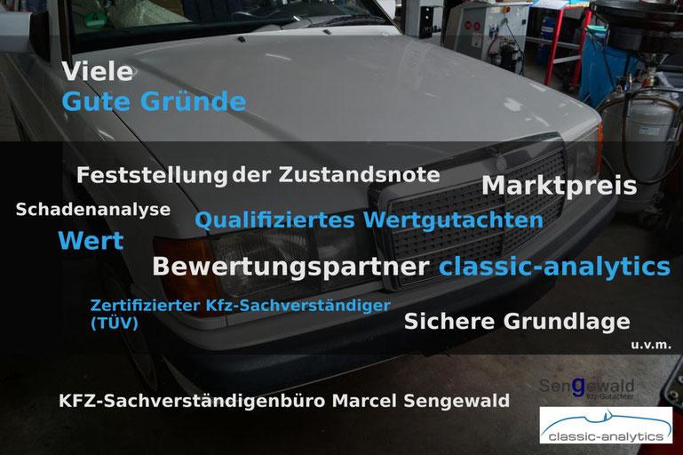 Mercedes Benz - Viele Gute Gründe für ein Wertgutachten