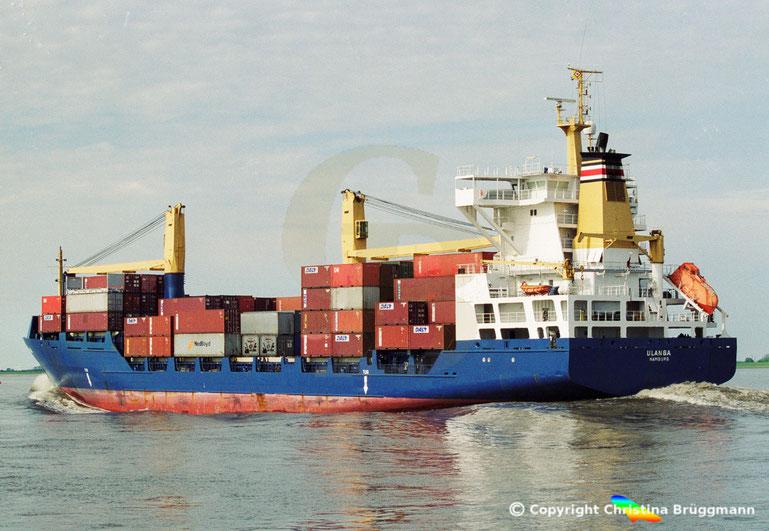 """Containerschiff """"ULANGA"""""""
