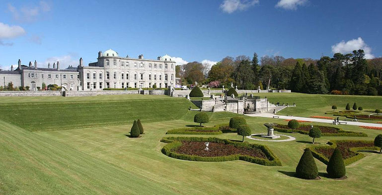 Powerscourt Garden, Irland