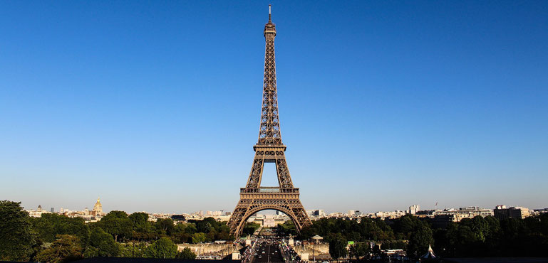 Paris mit Eiffelturm