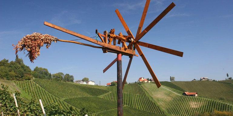 Klapotetz in den Weinbergen der Steiermark