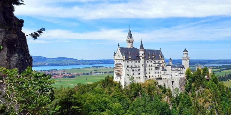 """Schloss Neuschwanstein auf der Reise """"Oberbayern: Schlösser, Seen & Gipfelglück"""""""