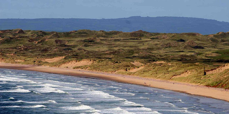 Gower Halbinsel im Süden von Wales