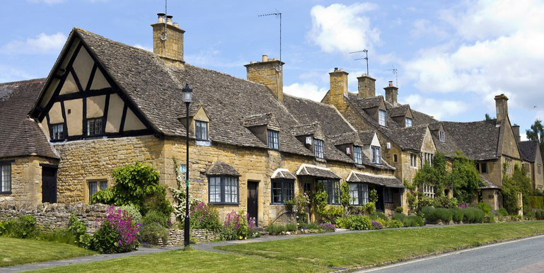 Dorf Broadway in den Cotswolds