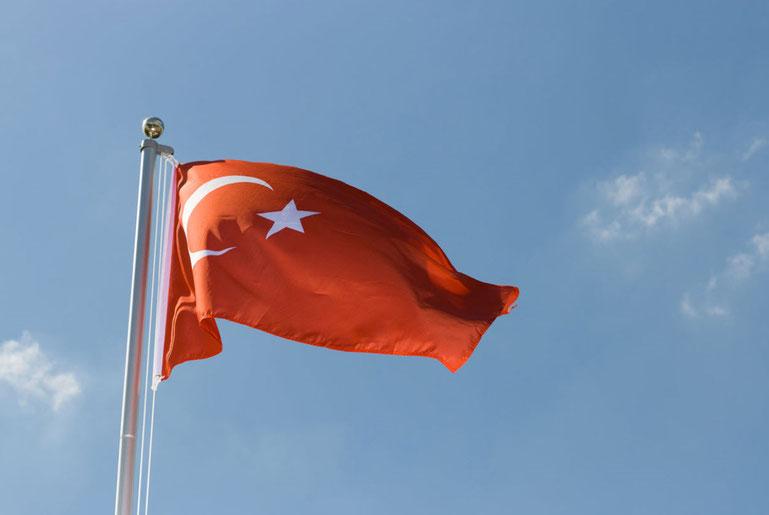Türkei - Copyright by Flaggenplatz.de