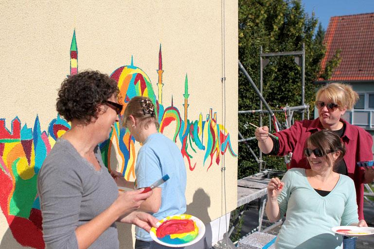 Kunst bewegt Teams in Unternehmen