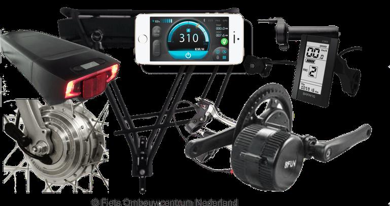 e bike kit van Fiets Ombouwcentrum Nederland