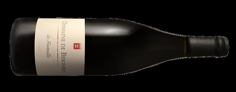 South of France red wine, AOC Côtes du roussillon Les Fontenilles, domaine de Besombes