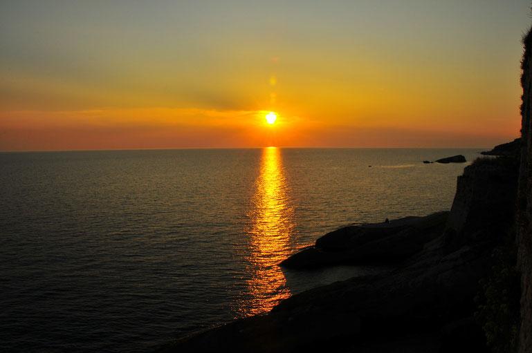 Urlaubsfoto Sonnenuntergang Fotoschule