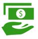 Symbol: Geld statt Reparatur, fiktive Abrechnung, Gutachtenauszahlung