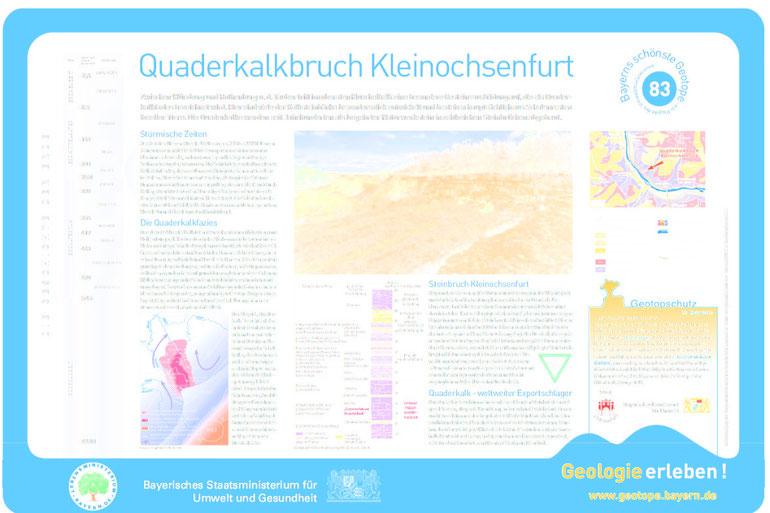 Schautafel Geotop 83