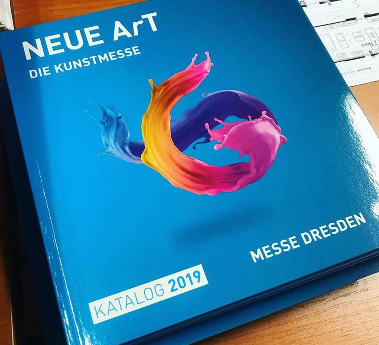 Messekatalog der Neuen Art Dresden 2019