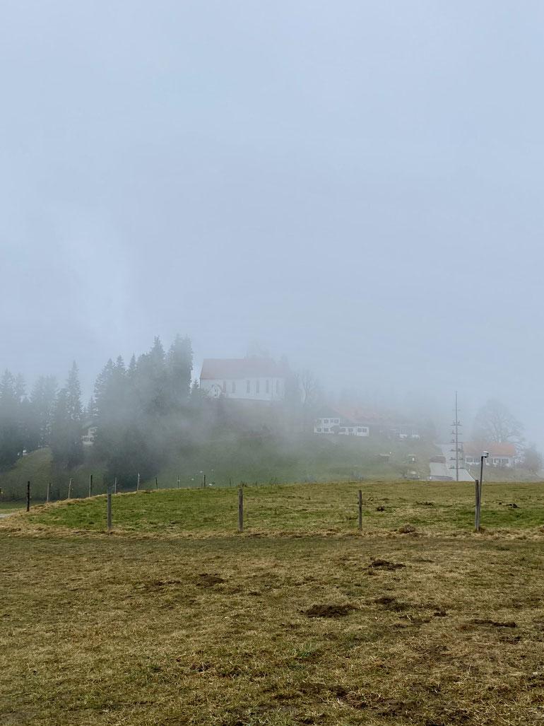 St Georg auf dem höchsten Punkt des Auerbergs