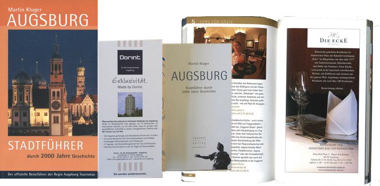 Stadtführer Augsburg 2014