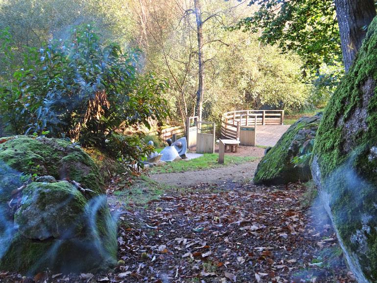 L'amphithéâtre du sentier Secrets de Vallée ©Louvigné Communauté