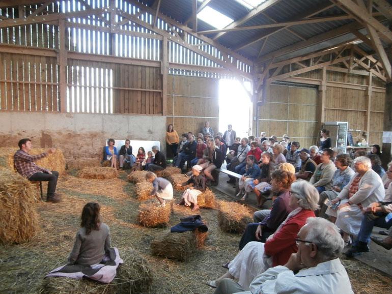 Veillée contée dans une grange © LaGranjagoul