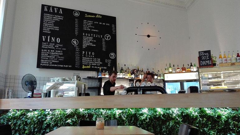 Kafe Damu Prague