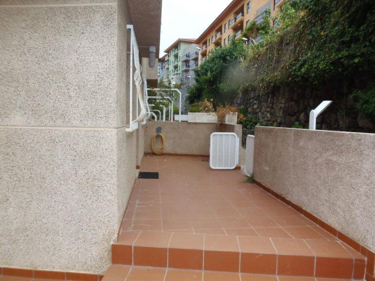 Eingang - vordere Terrasse