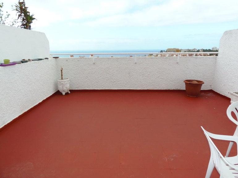 Meerblick Terrasse