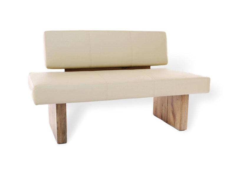 Summer Bank Leder - Naturnah Möbel - Moderne Massivholzmöbel
