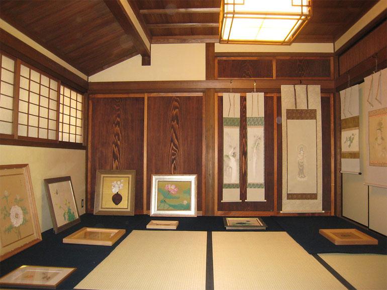 今西家 新家 日本刀 観賞会 絵画 日本画 洋画 芸術 学術 展覧会 講習会 セミナー