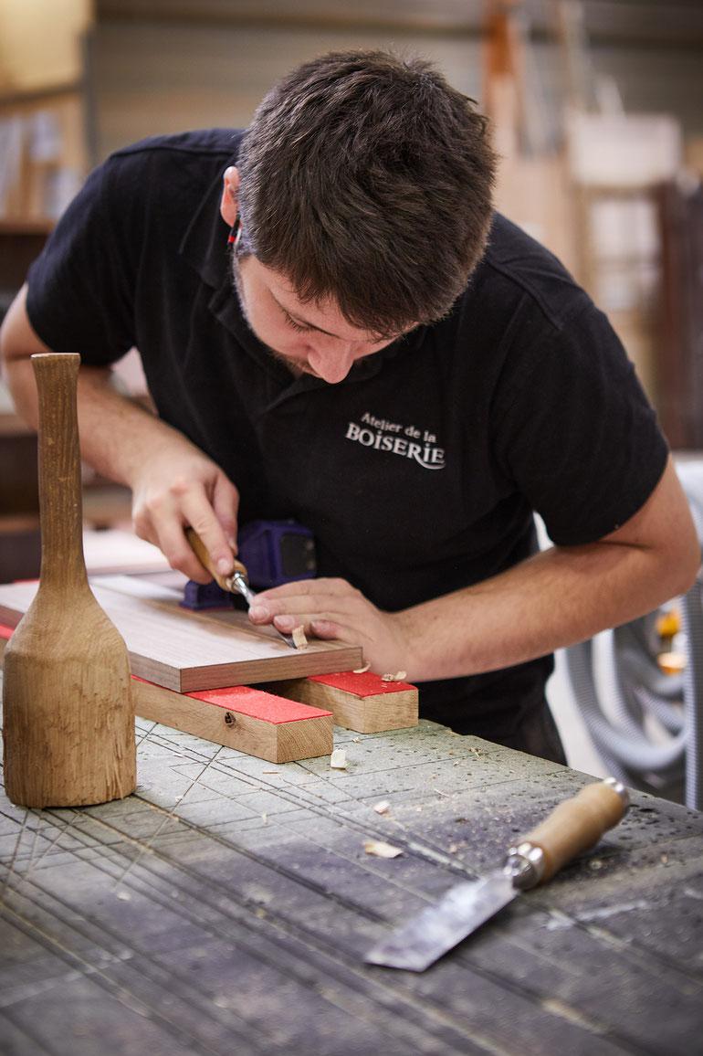 l'atelier de la boiserie - Connaissance des Arts - © jeanchristophe Lett