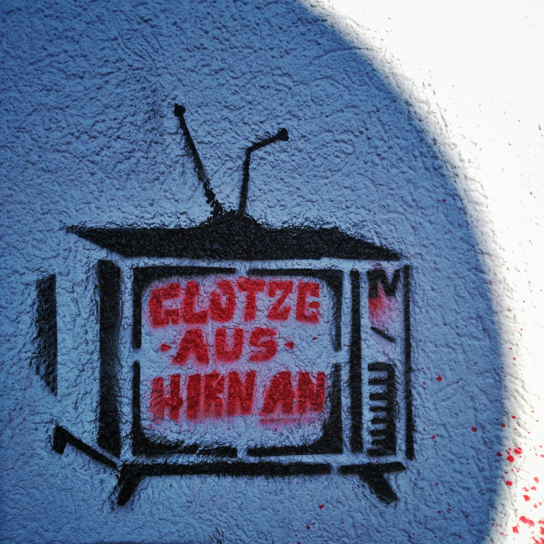 Graffito - Artist unbekannt