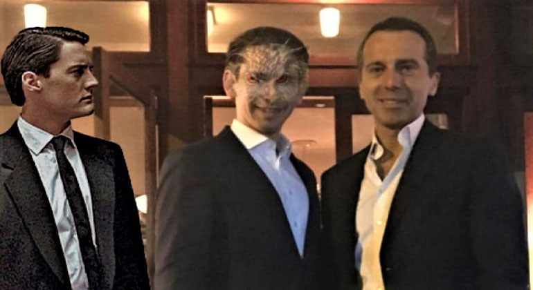 Sebastian Kurz, Christian Kern, Twin Peaks, Nationalratswahl 2017