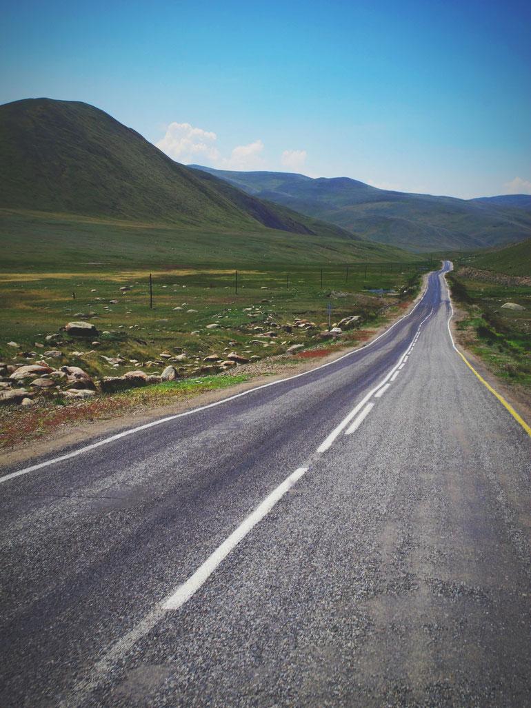 bigousteppes route tashanta frontière russie