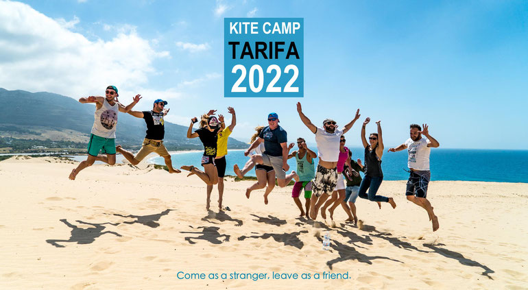 Kite camps in Tarifa