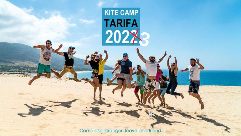 Kite camps in Tarifa