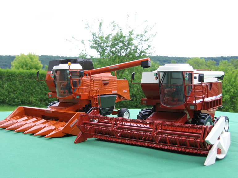 SOMECA M182 et LAVERDA 3900