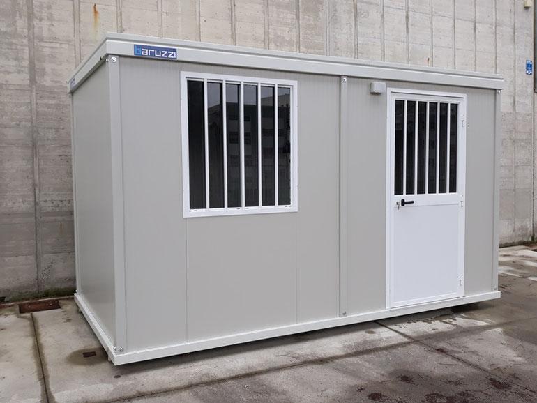 Rimini gru Noleggio container monoblocco uso ufficio spogliatoio baracca da cantiere