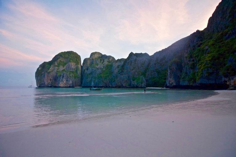 Thailand, Phi Phi Island, Weltreise, Maya Beach, The Beach, Maya Bay, Leonardo DiCaprio, Asien, Südostasien Reise,