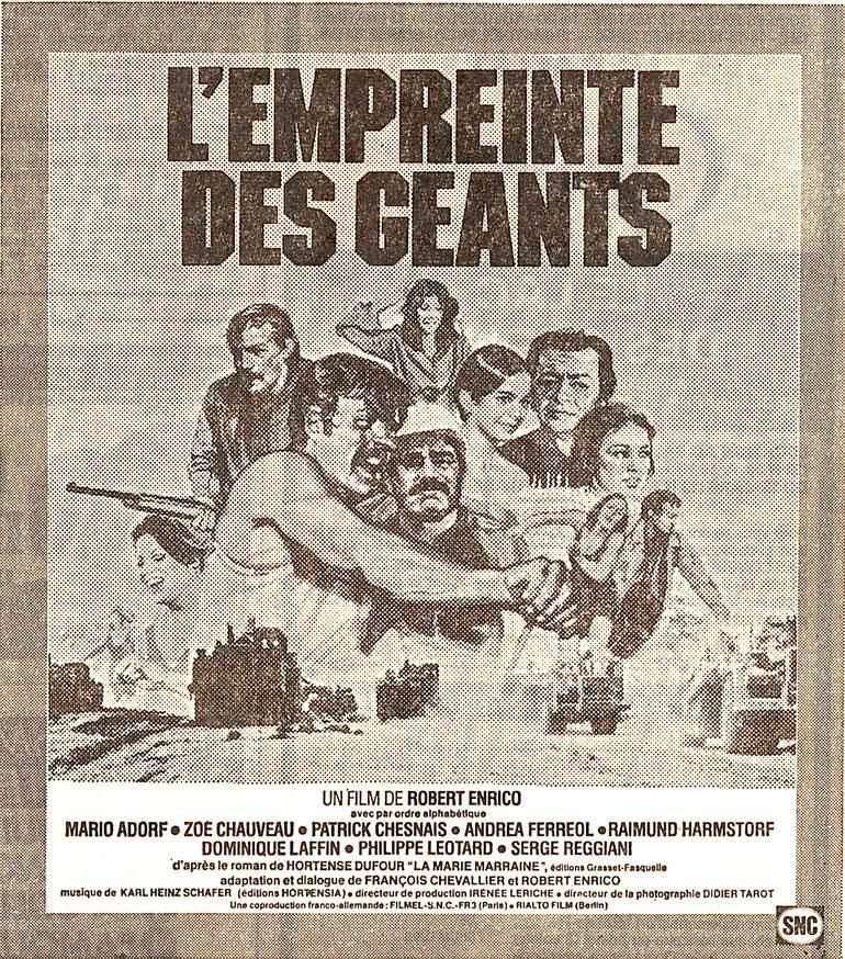 Date de sortie : mars 1980