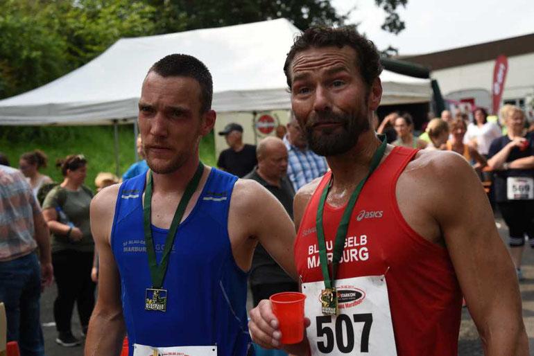 Micha Thomas und Dr. Markus Schraub, Foto H.Schaake